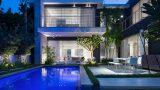 עיצוב גינה בית מודרני