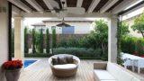 עיצוב גינה בית בהוד השרון